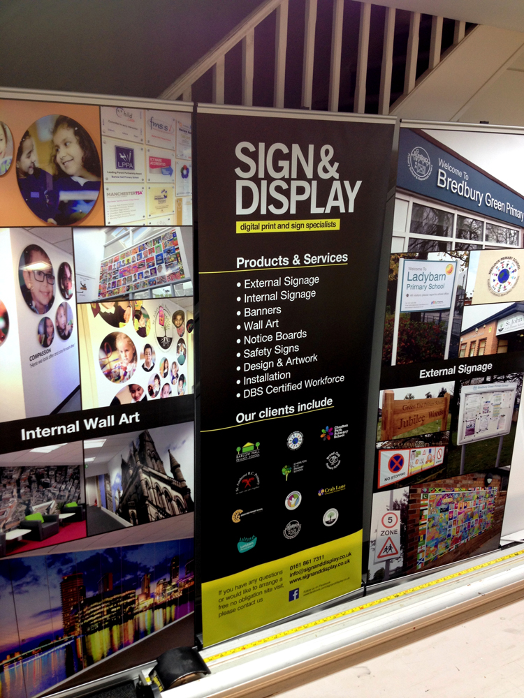 signage systems manchester