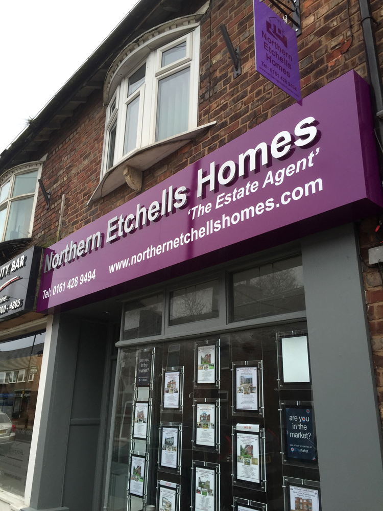 signs for housing associations in manchester